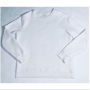 Forever 21 Men White Crew Neck (L)